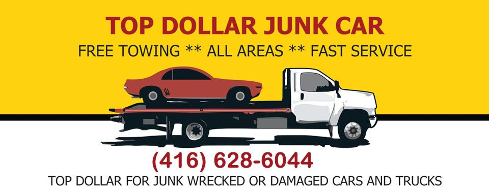 Top dollar for scrap car removal