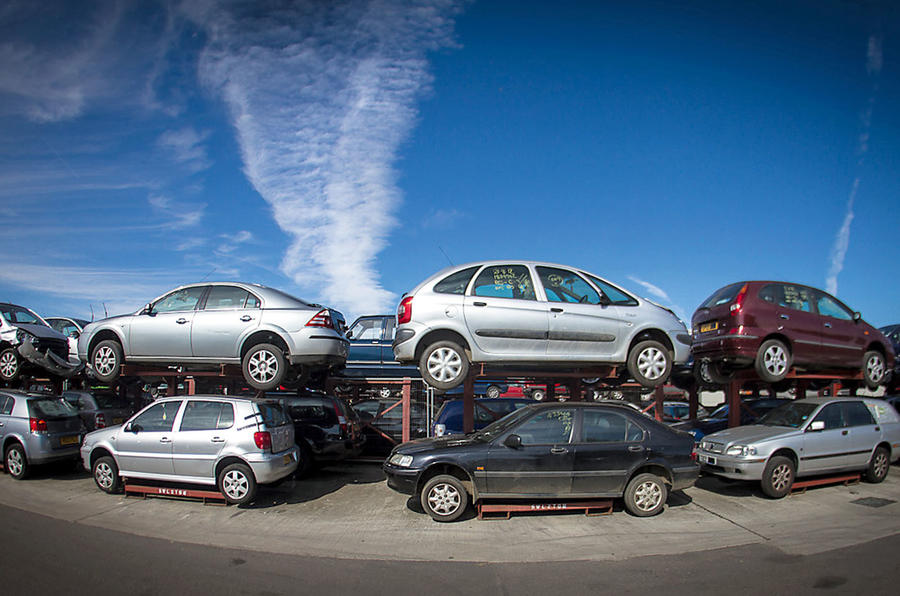 What Happens to Scrapped Cars?
